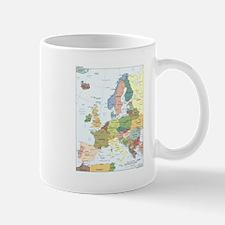 Europe Map Mug