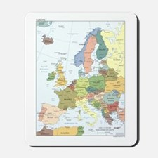 Europe Map Mousepad