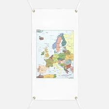 Europe Map Banner