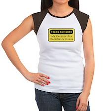 Teens Advisory Women's Cap Sleeve T-Shirt