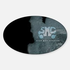 SMC Self-Titled Album Cover Oval Decal