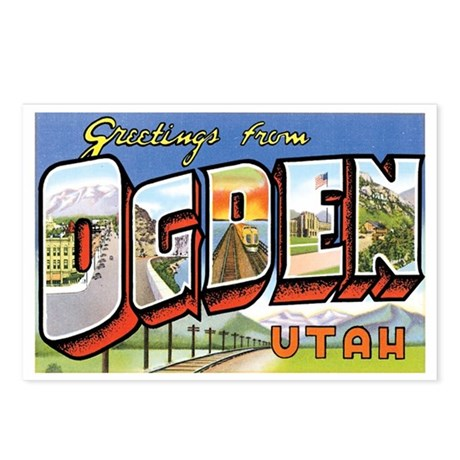 Ogden Utah UT Postcards (Package of 8)