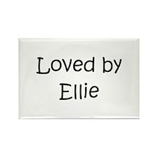 Cute Ellie Rectangle Magnet