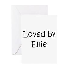 Unique Elli Greeting Card