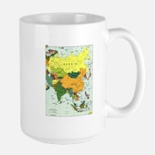 Asia Map Mug