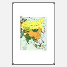 Asia Map Banner