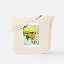 Asia Map Tote Bag