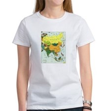 Asia Map Tee