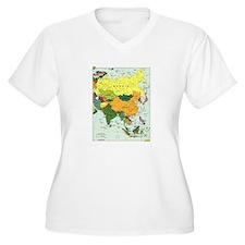 Asia Map T-Shirt