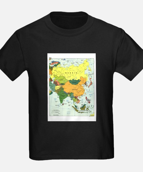 Asia Map T