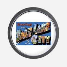 Salt Lake City Utah UT Wall Clock