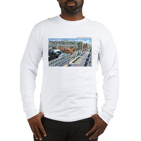 Salt Lake City Utah UT Long Sleeve T-Shirt