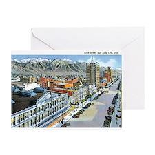 Salt Lake City Utah UT Greeting Card