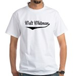 Walt Whitman White T-Shirt