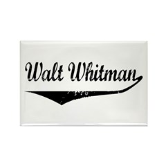 Walt Whitman Rectangle Magnet