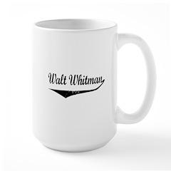 Walt Whitman Large Mug