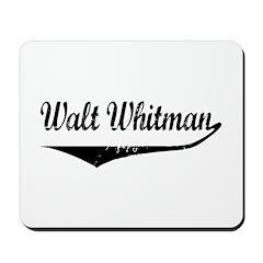 Walt Whitman Mousepad