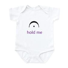 """hold me"" Infant Bodysuit"