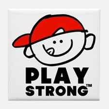 Kid Play Strong Tile Coaster