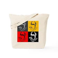 Ninja Face Tote Bag.