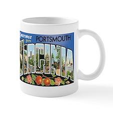 Portsmouth VA Mug