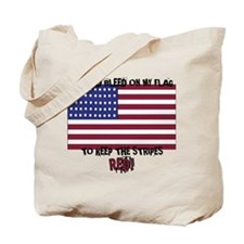 Unique I bleed white and blue Tote Bag
