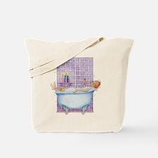 Bathtub Joy Tote Bag