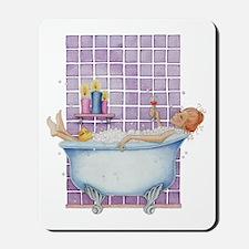 Bathtub Joy Mousepad
