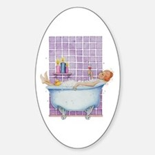 Bathtub Joy Oval Decal