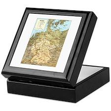 Germany Map Keepsake Box