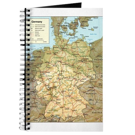 Germany Map Journal