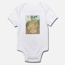 Germany Map Infant Bodysuit