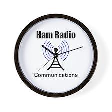 Ham Radio Communications Wall Clock