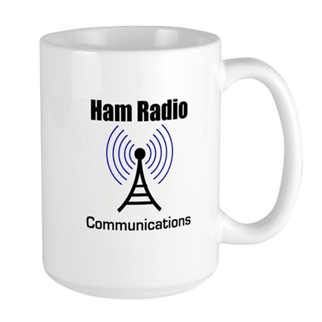 Ham Radio Communications Large Mug