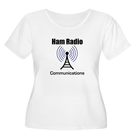 Ham Radio Communications Women's Plus Size Scoop N