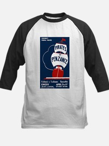 Pirates of Penzance Kids Baseball Jersey