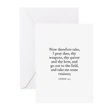 GENESIS  27:3 Greeting Cards (Pk of 10)