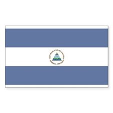 Nicaragua Rectangle Bumper Stickers