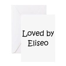 Unique Eliseo Greeting Card