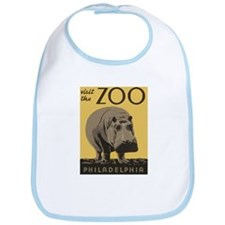 Zoo Hippo Bib