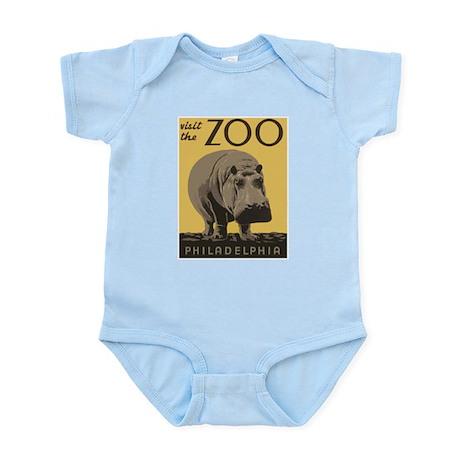 Zoo Hippo Infant Bodysuit