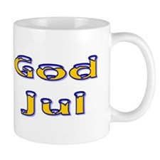 God Jul Flag Mug