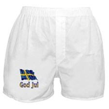 God Jul Flag Boxer Shorts