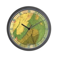 Grand Canyon Geology Wall Clock