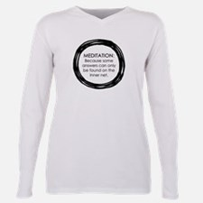 Meditation Inner Net Enso Quote T-Shirt