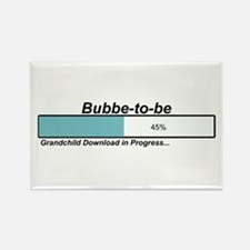Download Bubbe to Be Rectangle Magnet