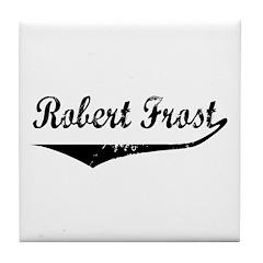 Robert Frost Tile Coaster