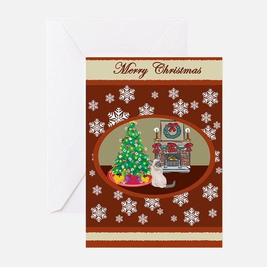 Classic Siamese Greeting Cards (Pk of 10)