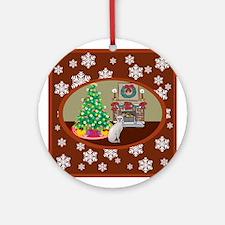 Classic Sphynx Ornament (Round)