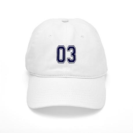 NUMBER 03 FRONT Cap